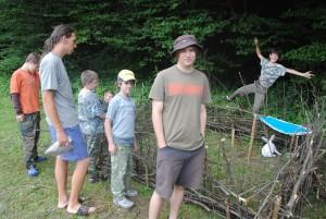 Kotec pro táborového králíka